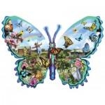Puzzle  Sunsout-95056 Lori Schory - Butterfly Farm