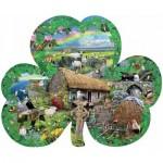 Puzzle  Sunsout-95756 Lori Schory - Irish Charm