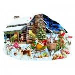 Puzzle  Sunsout-96046 Lori Schory - Santa's Rest Stop