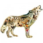Puzzle  Sunsout-96049 Pièces XXL - Greg Giordano - Native American Wolf