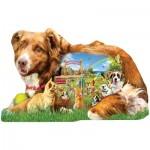 Puzzle  Sunsout-96074 Pièces XXL - Lori Schory - Dog Park