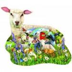 Puzzle  Sunsout-97041 Pièces XXL - Lamb Shop