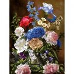 Puzzle   Bouquet in Blue
