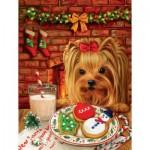 Puzzle   Brooke Faulder - Sharing Cookies with Santa