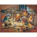 Puzzle   Bryan Moon - Cats Playing Poker