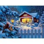 Puzzle   Corbert Gauthier - Christmas Bungalow
