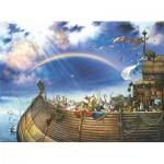 Puzzle  Sunsout-EC44110 Tom DuBois - Noah's Ark