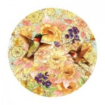 Puzzle   Giordano Studios - Hummingbirds and Berries