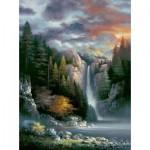Puzzle   James Lee - Misty Falls