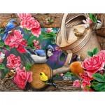 Puzzle   Jerry Gadamus - Watering Can Birds