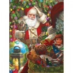Puzzle   Liz Goodrick Dillon - Ready to Go Santa