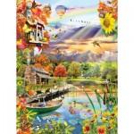 Puzzle   Lori Schory - Autumn Lake
