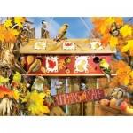 Puzzle   Lori Schory - Fall Leaves