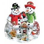 Puzzle   Lori Schory - Snow Family