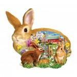 Puzzle   Lori Schory - Springtime Bunnies