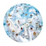 Puzzle   Lori Schory - Swan Waterfall