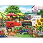 Puzzle   Nancy Wernersbach - Farm Stand Bounty