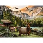 Puzzle   Nigel Hemming - Elk Country