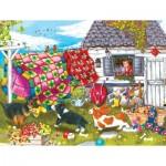 Puzzle   Pièces XXL - Backyard Pups