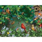 Puzzle   Pièces XXL - Bird Festival