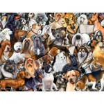 Puzzle   Pièces XXL - Dog World