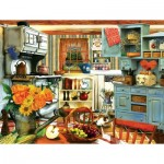 Puzzle   Pièces XXL - Grandma's Country Kitchen