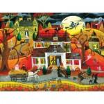 Puzzle   Pièces XXL - Halloween Fright Night