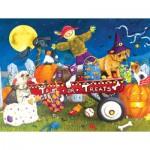 Puzzle   Pièces XXL - Halloween Puppies