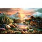 Puzzle   Pièces XXL - James Lee - Sunset Splendor