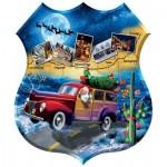 Puzzle   Pièces XXL - Jim Todd - Santa's Highway