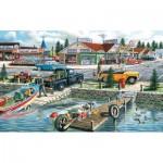 Puzzle   Pièces XXL - Ken Zylla - Pelican Lake