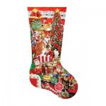 Puzzle   Pièces XXL - Lori Schory - Kitty Stocking