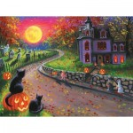 Puzzle   Pièces XXL - On a Spooky Night