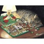 Puzzle   Pièces XXL - Piece-ful Slumber