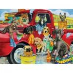 Puzzle   Pièces XXL - Puppy Car Wash