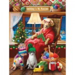 Puzzle   Pièces XXL - Tom Wood - Another Knitted Gift from Grandma