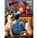Puzzle   Pièces XXL - Tom Wood - Listening to the Game