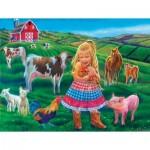 Puzzle   Pièces XXL - Tricia Reilly-Matthews - Fun on the Farm