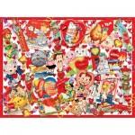 Puzzle   Pièces XXL - Valentine Card Collage