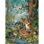 Puzzle   Pièces XXL - Woodland Forest Friends