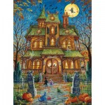 Puzzle   Randal Spangler - The Trick or Treat House