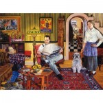 Puzzle   Susan Brabeau - Red Paint