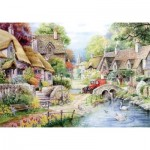 Puzzle  The-House-of-Puzzles-1431 Pièces XXL - River Cottage