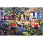 Puzzle  The-House-of-Puzzles-1479 Garden Pond