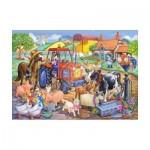 Puzzle  The-House-of-Puzzles-1806 Pièces XXL - Farm Friends