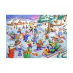 Puzzle  The-House-of-Puzzles-1813 Pièces XXL - Fun In The Snow