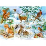 Puzzle  The-House-of-Puzzles-1912 Pièces XXL - Midwinter
