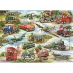 Puzzle  The-House-of-Puzzles-2230 Pièces XXL - Truly Classic