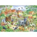 Puzzle  The-House-of-Puzzles-2445 Pièces XXL - Keeping Busy