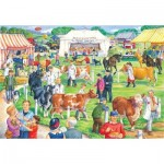 Puzzle  The-House-of-Puzzles-2735 Pièces XXL - County Show
